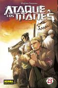 Ataque a los Titanes 23 - Hajime Isayama - Norma Editorial (Comics)