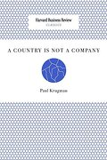 A Country is not a Company (libro en inglés)