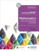 Cambridge Igcse Mathematics Core and Extended 4th Edition (libro en Inglés) - Ric Pimentel; Terry Wall - Hodder Education