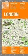 Londres Plano Callejero Plastificado. Escala 1: 16. 500. Bilingüe Castellano-Inglés. De Dios Editores. (City Map) - Dedios - Dedios