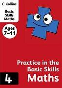 Collins Practice in the Basic Skills: Maths Book 4 (libro en inglés) - Harpercollins Uk - Collins