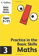 Collins Practice in the Basic Skills: Maths Book 3 (libro en inglés) - Harpercollins Uk - Collins