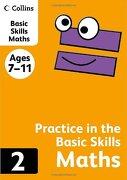 Collins Practice in the Basic Skills: Maths Book 2 (libro en inglés) - Harpercollins Uk - Collins