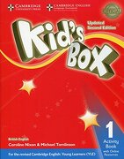Kid's Box. Level 1. Per la Scuola Elementare. Con E-Book. Con Espansione Online. Con Libro: Activity Book (libro en Inglés) - Caroline Nixon; Michael Tomlinson - Cambridge University Press