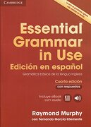 Essential Grammar in use Book With Answers and Interactive Ebook Spanish Edition 4th Edition (libro en inglés) - Raymond Murphy,Fernando Garcia Clemente - Cambridge University Press