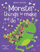Monster Things to Make and do (libro en inglés) - Rebecca Gilpin - Usborne Publishing Ltd