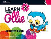 Learn With Ollie 2 Activity Book (libro en Inglés) - S.A. C.V. Richmond Publishing - Richmond