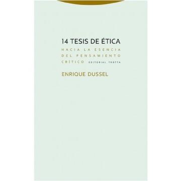 portada 14 Tesis de Etica, Hacia la Esencia del Pensamiento Critico
