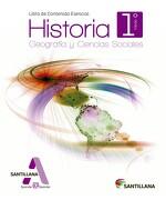 Historia, Geografía y Ciencias Sociales 1º Medio (Proyecto Aprender@Aprender) (Santillana) - Santillana - Santillana