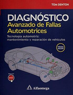 portada Diagnostico Avanzado de Fallas Automotrices. Tecnologia Automotriz Mantenimiento y Reparacion de Vehiculos