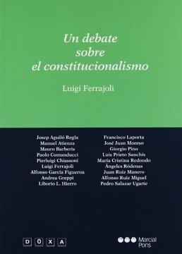 portada Un Debate Sobre el Constitucionalismo