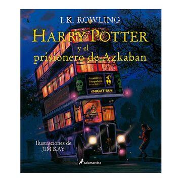portada Harry Potter y el Prisionero de Azkaban = Harry Potter and the Prisoner of Azkaban: The Illustrated Edition