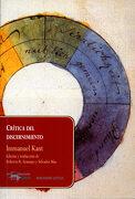 Critica del Discernimiento - Immanuel Kant - A. Machado Libros