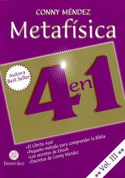 portada Metafísica 4 en 1. Vol. Iii