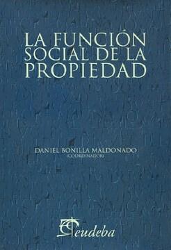 portada La Funcion Social de la Propiedad