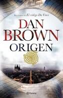 portada Origen - Dan Brown - Planeta