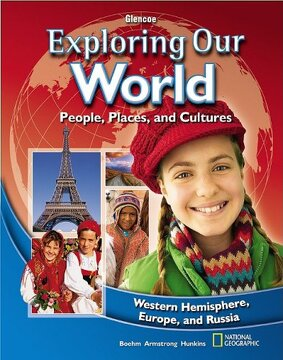 portada Exploring our World: Western Hemisphere, Europe, and Russia, Student Edition (The World & its People Eastern) (libro en Inglés)