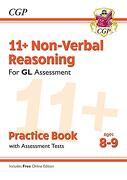 New 11+ gl Non-Verbal Reasoning Practice Book & Assessment Tests - Ages 8-9 (libro en inglés)