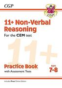 New 11+ cem Non-Verbal Reasoning Practice Book & Assessment Tests - Ages 7-8 (libro en inglés)