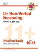 New 11+ cem Non-Verbal Reasoning Practice Book & Assessment Tests - Ages 10-11 (libro en inglés)
