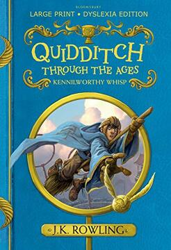 portada Quidditch Through the Ages (libro en inglés)