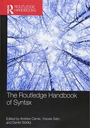 The Routledge Handbook of Syntax (Routledge Handbooks in Linguistics) (libro en inglés)