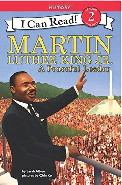 portada Martin Luther King Jr.  A Peaceful Leader (i can Read Level 2) (libro en inglés)
