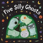 Five Silly Ghosts (Board Book) (libro en Inglés) - Houghton Mifflin Harcourt - Hmh Books For Young Readers