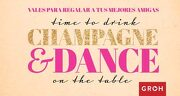 Vales Time to Drink Champagne and Dance - Groh - Editorial Groh