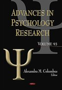 Advances in Psychology Research (libro en inglés) - columbus, alexandra m. (edt) - Nova Science Pub Inc