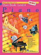 Alfred's Basic Piano Course top Hits! Duet Book, bk 4 (Alfred's Basic Piano Library) (libro en inglés)