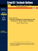Outlines & Highlights for Psychology and Life by Richard j. Gerrig, Philip g. Zimbardo (libro en inglés) - Cram101 Textbook Reviews - Aipi