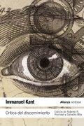 Crítica del discernimiento - Immanuel Kant - Alianza Editorial