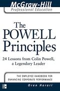The Powell Principles: 24 Lessons From Colin Powell, a Legendary Leader (The Mcgraw-Hill Professional Education Series) (libro en inglés) - Oren Harari - Mcgraw-Hill Publ.Comp.