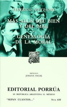 portada Mas Alla del Bien y el Mal; Genealogia Moral (7ª Ed. )
