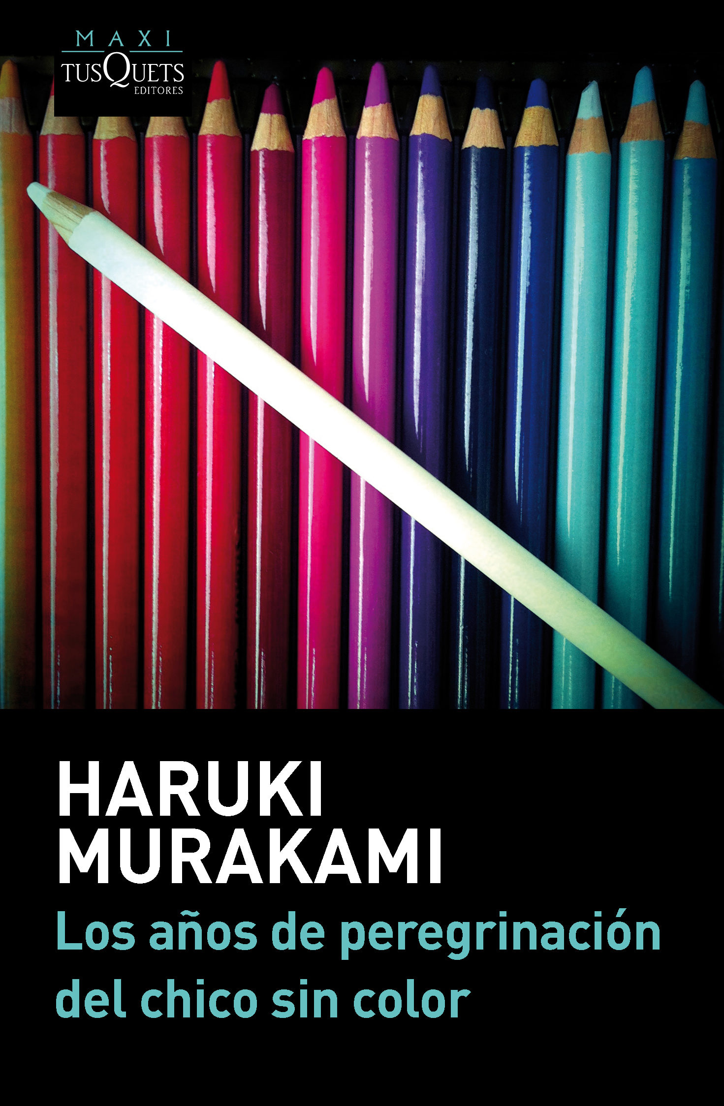 Los años de peregrinación del chico sin color; haruki murakami