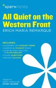 All Quiet on the Western Front Sparknotes Literature Guide (Sparknotes Literature Guide Series) (libro en inglés)