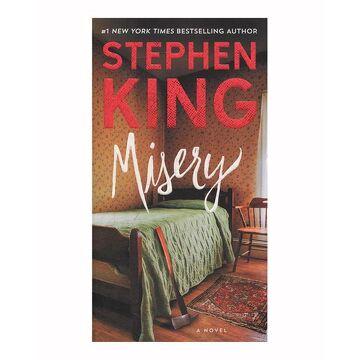 portada Misery: A Novel (libro en inglés)