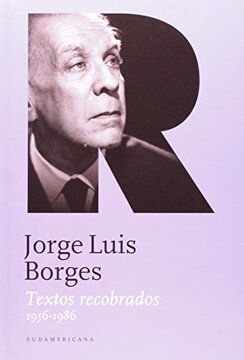 portada Jorge Luis Borges Textos Recobrados iii (1956-1986)
