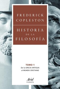 portada Historia de la Filosofía i: De la Grecia Antigua al Mundo Cristiano