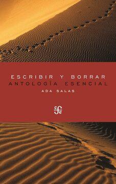 portada Escribir y Borrar: Antología Esencial