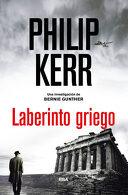 portada Laberinto Griego (Novela Policíaca Bib)