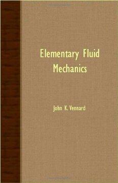portada Elementary Fluid Mechanics (libro en Inglés)