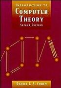 Introduction to Computer Theory (libro en Inglés) - Daniel I. A. Cohen - John Wiley & Sons