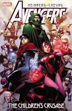portada Avengers: The Children's Crusade (libro en inglés)