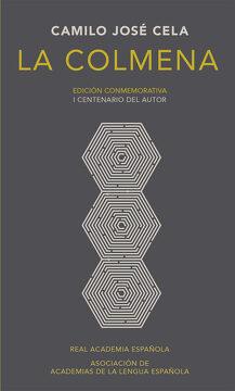 portada La Colmena (Edición Conmemorativa de la rae y la Asale)