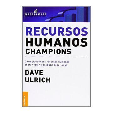 portada Recursos Humanos Champions