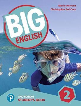 portada Big English ame 2nd Edition 2 Student Book (libro en Inglés)