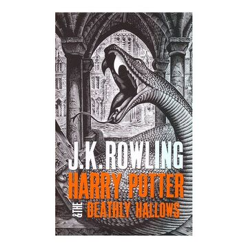 portada Harry Potter and the Deathly Hallows - Adult Edition (Harry Potter 7 Adult Edition) (libro en Inglés)