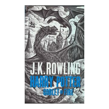 portada Harry Potter and the Goblet of Fire - Adult Edition (Harry Potter 4 Adult Edition) (libro en Inglés)